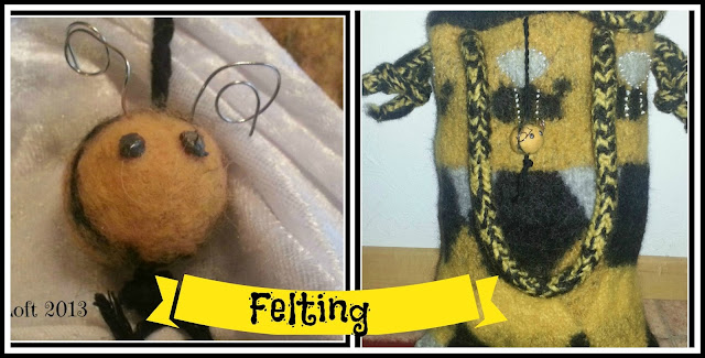 Felting Crafts DIY