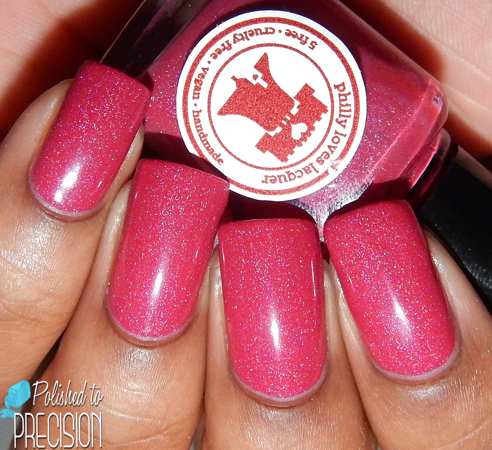 Philly Loves Lacquer Pink Cashmere