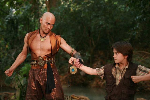 """Imágenes de la película """"The Lost Medallion: The Adventures of Billy Stone""""."""