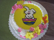 The Easter Bunny Cake is a lemon cake with lemon curd filling and is topped . img