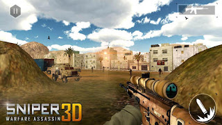 Screenshots of the Sniper warfare assassin 3D for Android tablet, phone.