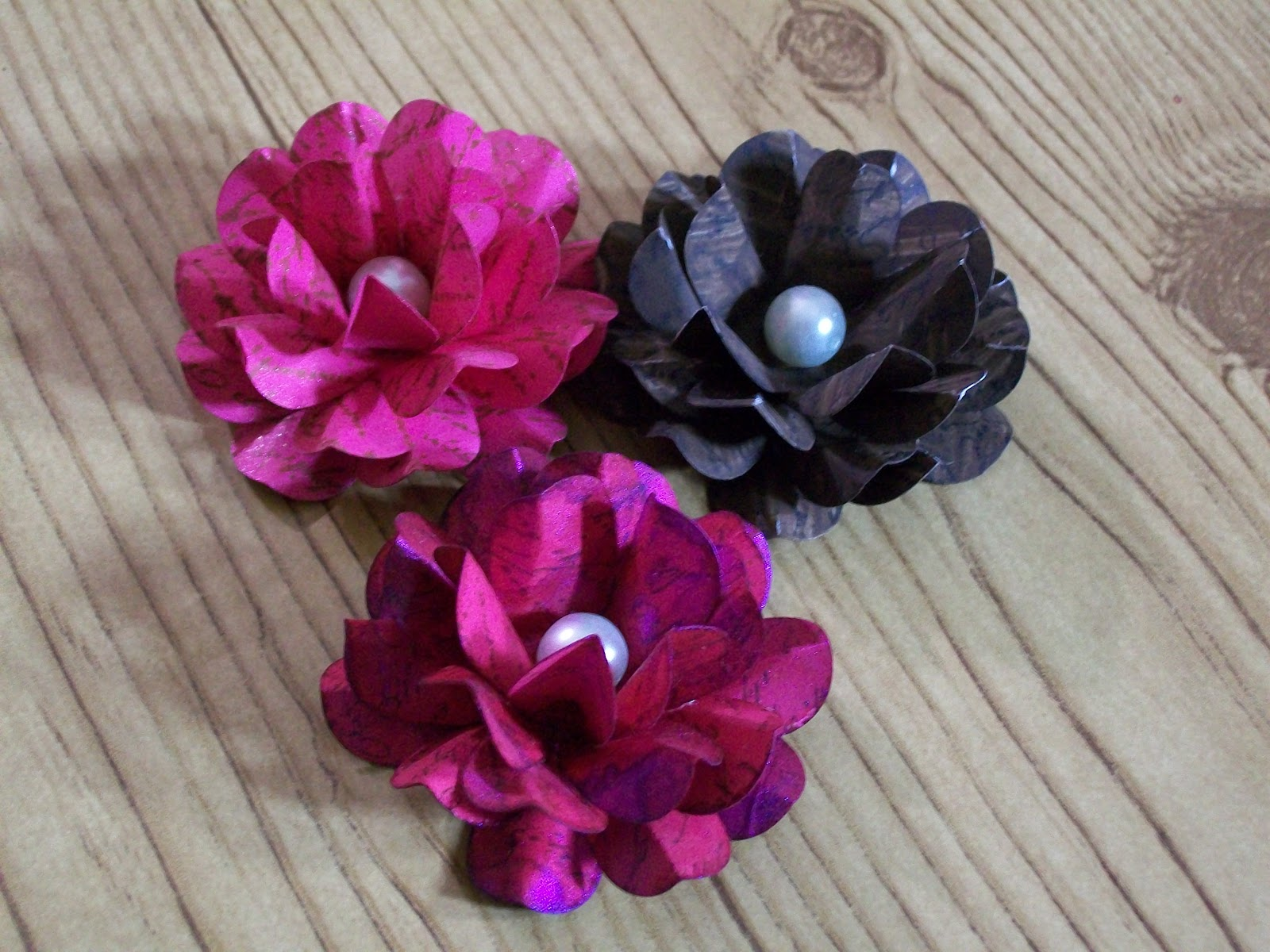 j ann b designs handmade paper flower tutorial