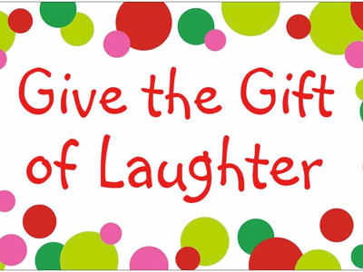 For Journey's Sake: Free Christmas Gifts - Idea 4 - Laughter
