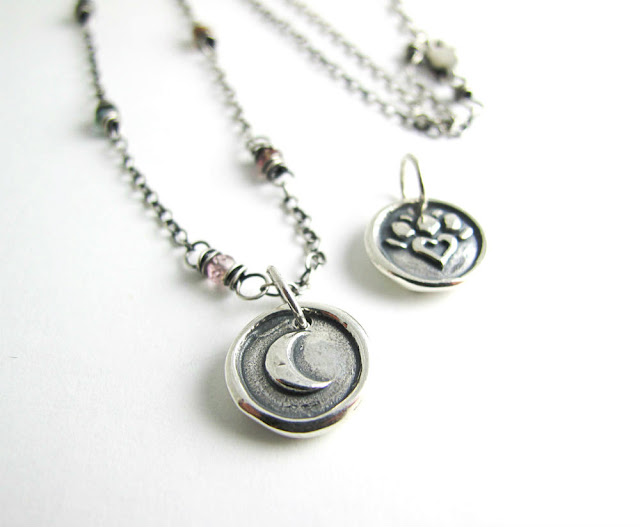 downton abbey inspired necklace sterling silver beth hemmila hint jewelry