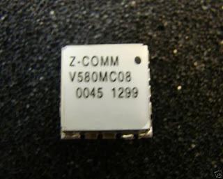 Z-COMM VCO 850MHz-910MHz, V580MC08, MINI-16