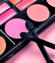 colorete para el maquillaje de noche