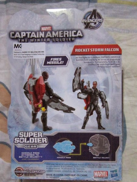 Marvel Universe Legends Falcon Captain America Partner Winter Soldier movie comic Avangers Sam Wilson Assemble
