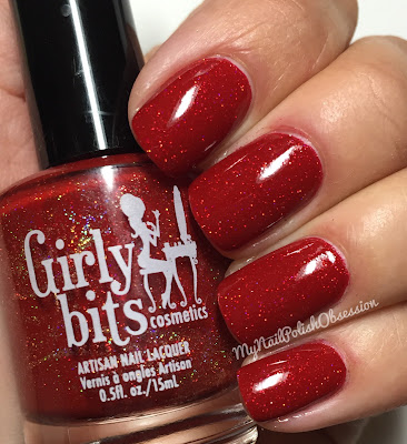 Girly Bits Holiday Magic: Little Red Toque