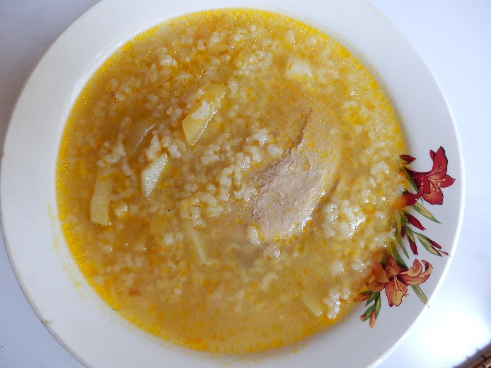 Суп со свининой пошаговый рецепт