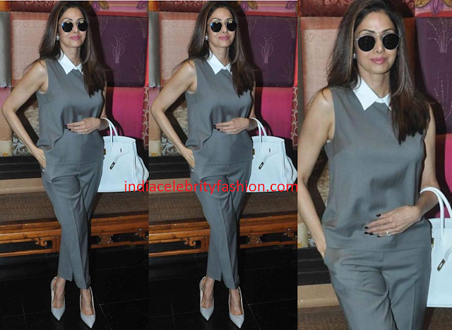 Sridevi Kapoor in Theory Outfit