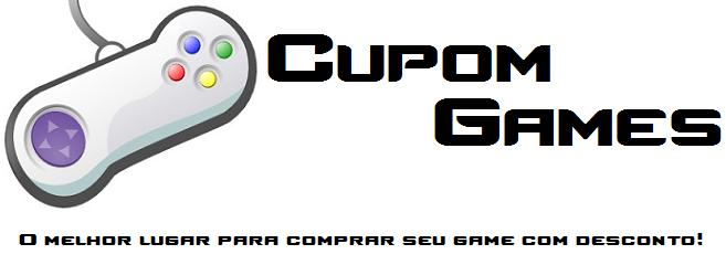 Cupom Games - Seu melhor desconto em Games!