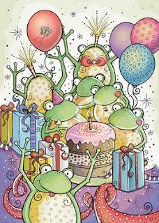 Printable birthday Animals