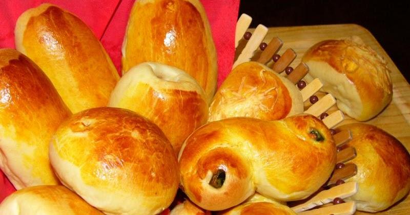 Resep Cara Membuat Roti Manis Isi
