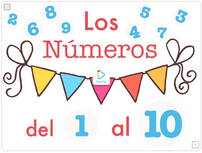 LOS Nº DEL 1 AL10