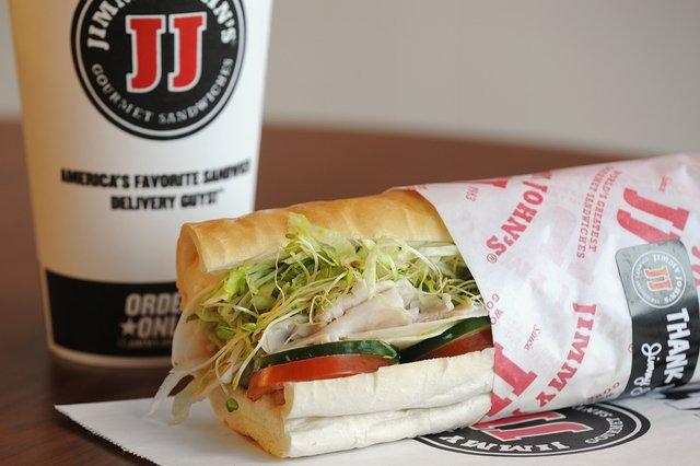 Club Beach Sandwich Jimmy Johns