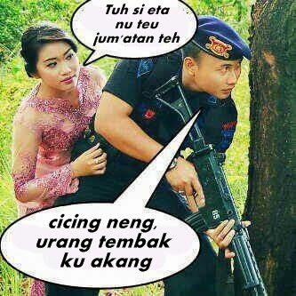 Foto dan kata lucu berbahasa Sunda 2