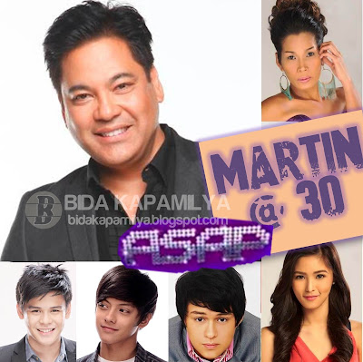 Martin Nievera Celebrates his 30th Showbiz anniversary on ASAP 2012 this July 29; Plus ASAP Boyfriendz Khalil, Daniel and Enrique and The Healing Stars Kim Chiu and Pokwang