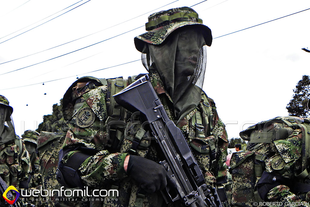 comandos ejercito colombia