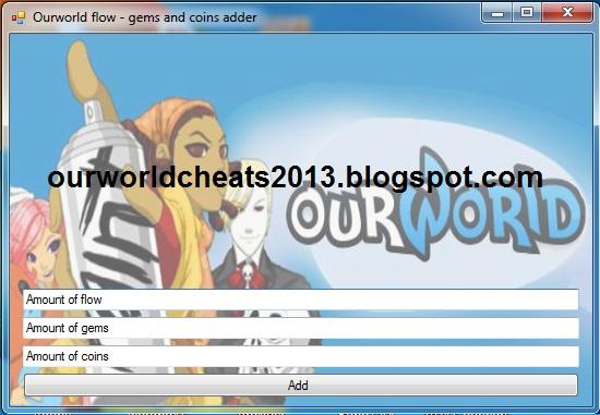 OurWorld cheats
