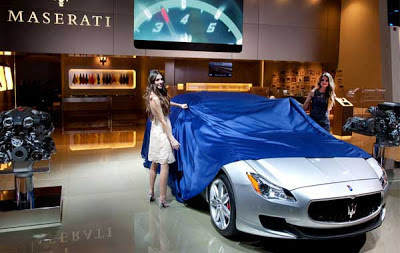Maseratiu0027s Quattroporte Is A Large Luxury Sedan That Blends The Sense Of  Exclusivity And Lavish Feel Found In A Low Volume Model With The Passion Of  An ...