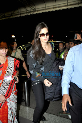 Katrina Kaif leaves for New Year celebration