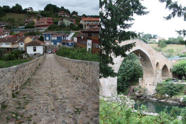 Puente Romano sobre el río Sella en Cangas de Onis