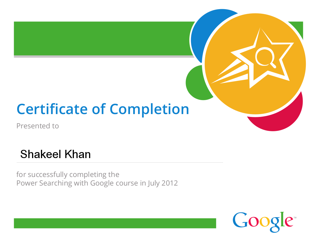 Shakeel Khan Google Adwords Analytics Certified And Bing Ads