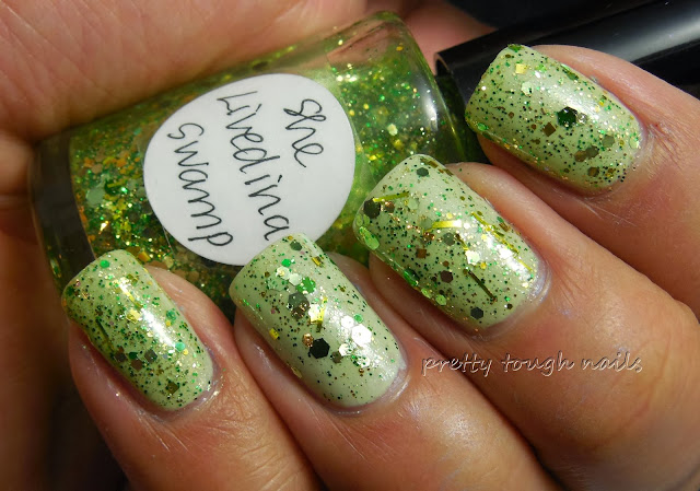 Avon Honeydew Sparkle With Lynnderella She Livedina Swamp
