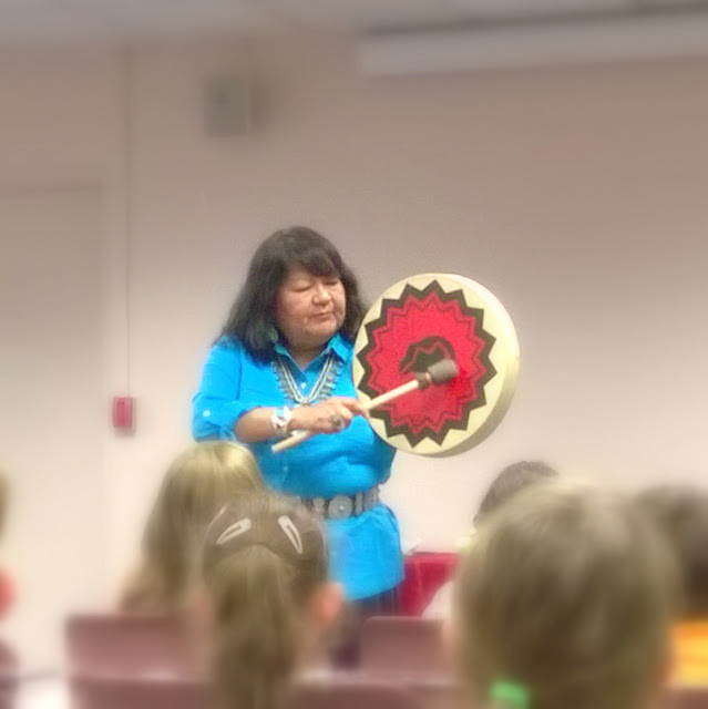 Native American storytelling at Van Nuys Public Library