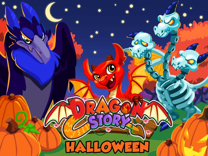 Dragon Story: Halloween App iTunes App By TeamLava - FreeApps.ws