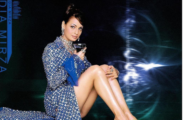Diya Mirza HD Wallpaper