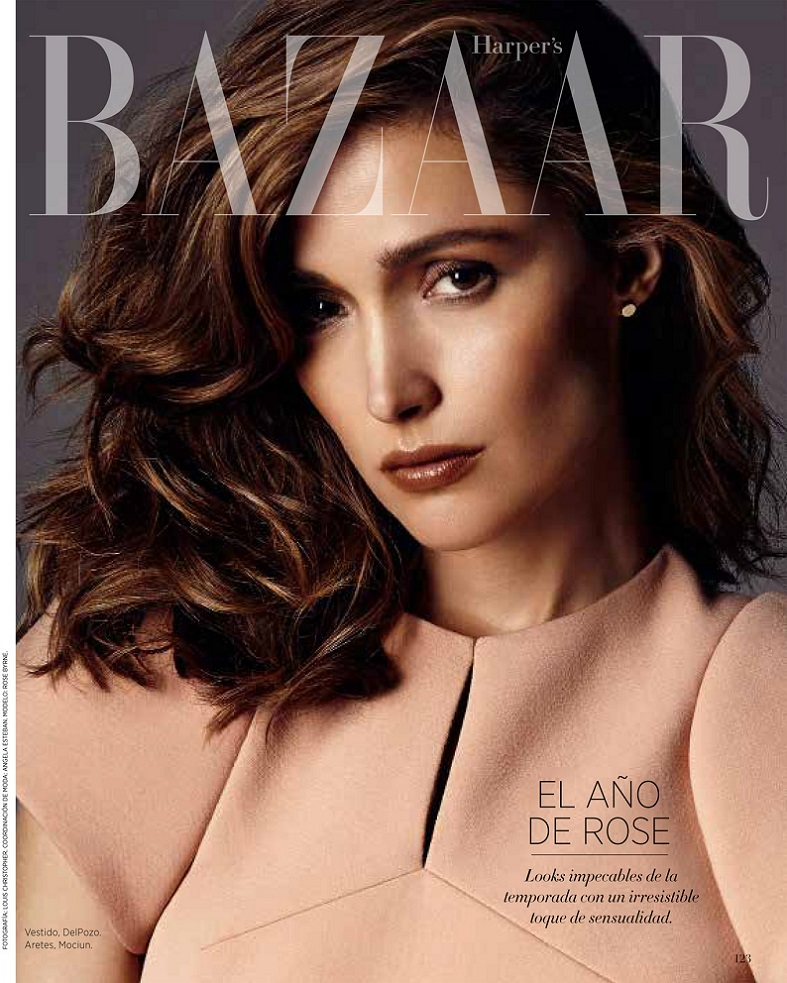 Rose Byrne on Cover for Harper's Bazaar Latin America ...
