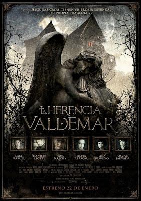 Filme Poster La herencia Valdemar DVDRip RMVB Legendado