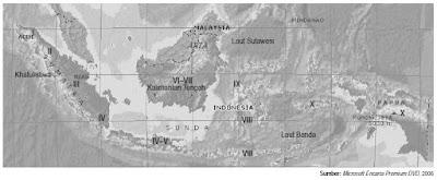 pembagian regionalisasi pembangunan di Indonesia