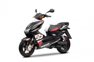 Yamaha Aerox SP55 Special Edition