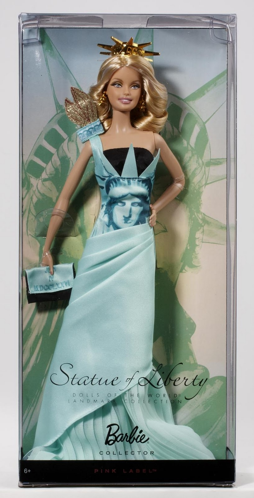 THE FASHION DOLL REVIEW: Statue of Liberty Doll of the World plus ...