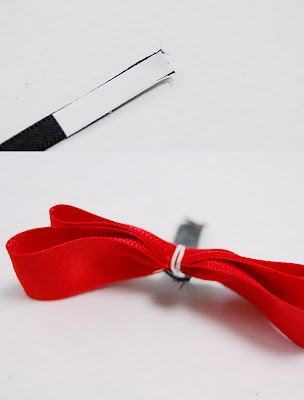 black finish ribbon