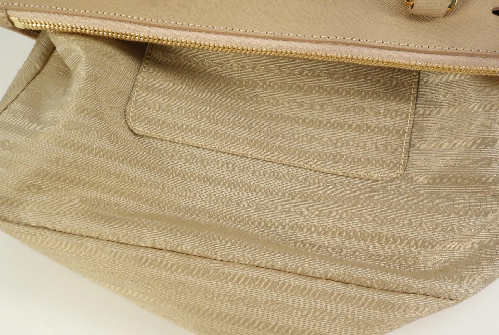 prada designer bags - Purse Princess: Replica Prada Saffiano Tote in Cameo