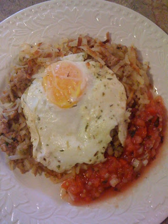 Turkey Hash with Garlic and Herbs