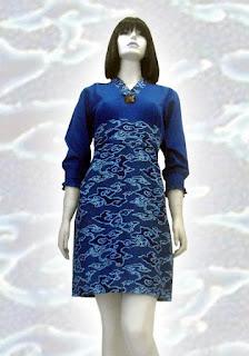 ... ke facebook bagikan ke pinterest label baju batik pesta dress batik