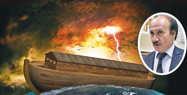 Τούρκος ακαδημαϊκός λέει ότι ο Νώε είχε... κινητό και ότι η κιβωτός ήταν πυρηνοκίνητη