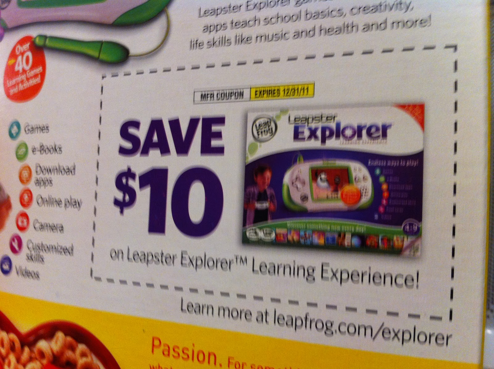 Leapfrog coupon code