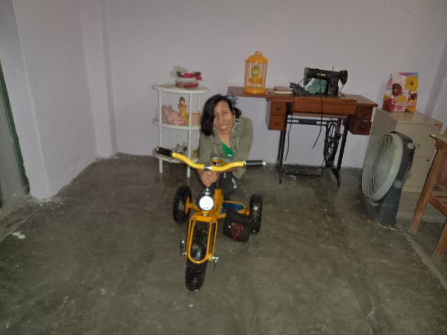 Mi triciclo fue mi bendiciòn =)