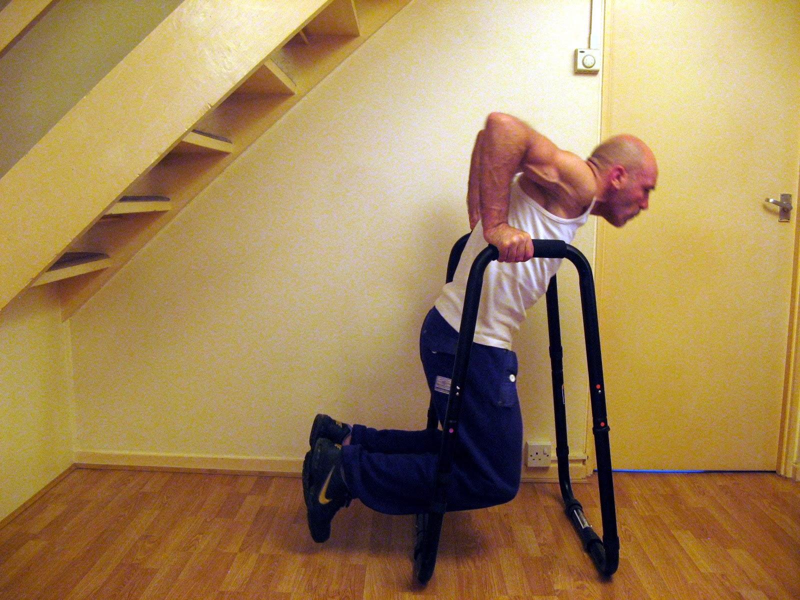 Start Bodyweight Training Dip Progression