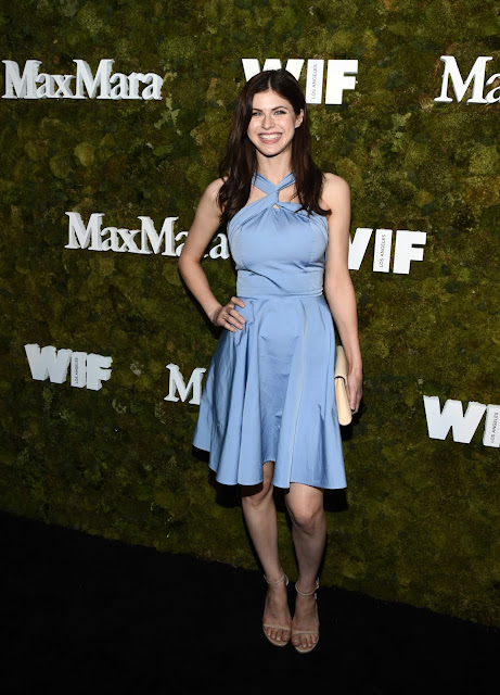 Actress, Model @ Alexandra Daddario - Max Mara Women In Film Face Of The Future Award Event in West Hollywood