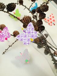 Mine sommerfugler
