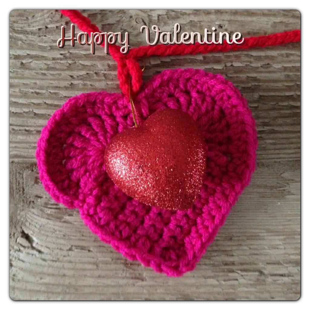 Annoo\'s Crochet World: Valentine Heart Garland Free Pattern