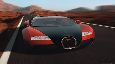 Bugatti Veyron Red Black Wallpapers