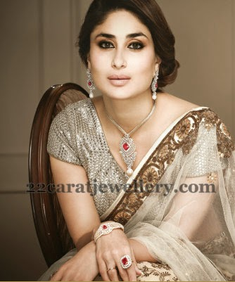 Kareena Kapoor Diamond Ring Bangle Jewellery Designs