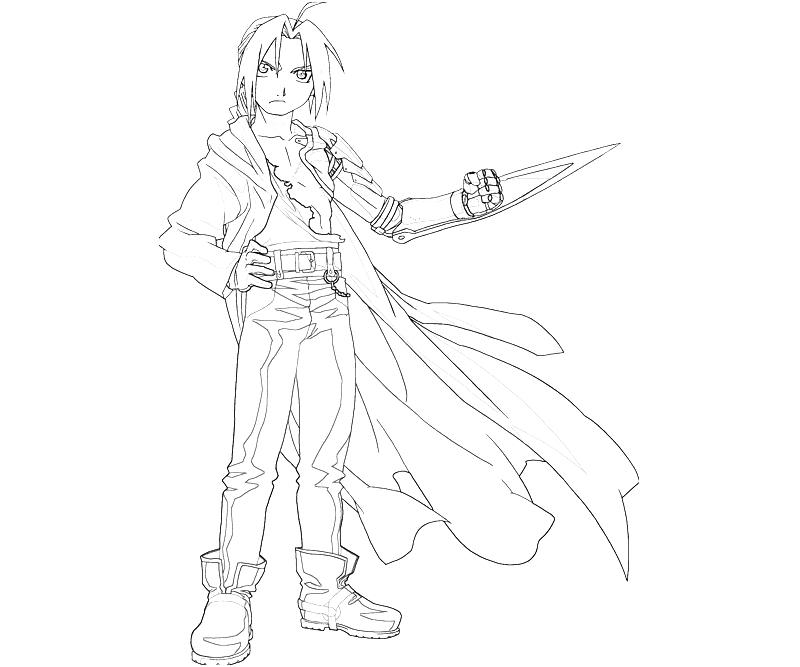 printable-edward-elric-pose_coloring-pages-4